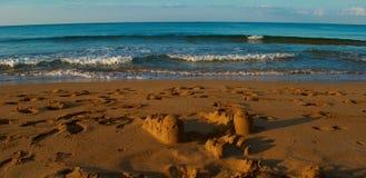 Costruzioni dalla sabbia Immagine Stock Libera da Diritti