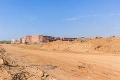 Costruzioni del centro commerciale della costruzione Fotografie Stock