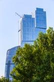 Costruzioni del centro di affari moderno Fotografia Stock Libera da Diritti