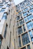 Costruzioni del centro di affari moderno Fotografie Stock Libere da Diritti