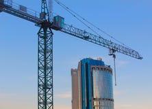 Costruzioni del centro di affari moderno Immagini Stock
