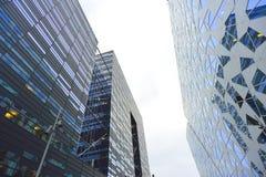 Costruzioni del centro urbano di Oslo Immagini Stock