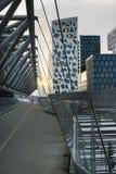 Costruzioni del codice a barre a Oslo Fotografie Stock Libere da Diritti