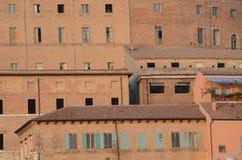 Costruzioni del porto a Ancona L'Italia Fotografia Stock