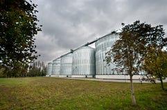 Costruzioni del silo Fotografia Stock Libera da Diritti