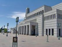 Costruzioni del tempiale di Salt Lake fotografia stock