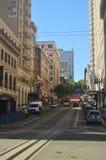 Costruzioni dell'alta carica a San Francisco Architettura di feste di viaggio Fotografia Stock Libera da Diritti