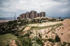 Costruzioni dell'edilizia popolare Fotografia Stock Libera da Diritti
