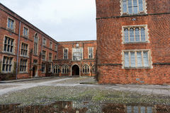 Costruzioni dell'istituto universitario all'istituto universitario di Winchester, Regno Unito Fotografie Stock Libere da Diritti