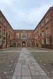 Costruzioni dell'istituto universitario all'istituto universitario di Winchester, Regno Unito Fotografia Stock