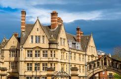 Costruzioni dell'istituto universitario di Hertford a Oxford Fotografie Stock