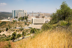 Costruzioni dell'ospedale del centro medico di Hadassah, Gerusalemme Ein Karem, Immagine Stock Libera da Diritti