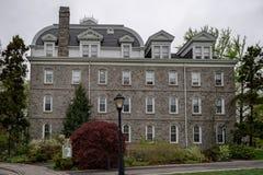 Costruzioni dell'università dell'istituto universitario di Swarthmore vecchie Immagini Stock Libere da Diritti