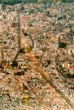 Costruzioni della capitale di Quito Ecuador Fotografia Stock Libera da Diritti