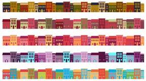 Costruzioni della città illustrazione di stock