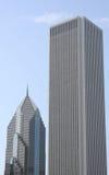 Costruzioni della città del Chicago Immagini Stock