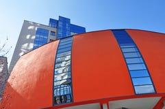 Costruzioni della città di affari Immagini Stock Libere da Diritti