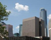 Costruzioni della città di Minneapolis Fotografia Stock Libera da Diritti