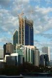 Costruzioni della città di Perth fotografia stock