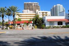 Costruzioni, depositi, commerci nel Ft Lauderdale Fotografia Stock