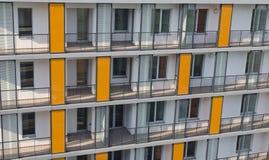 Costruzioni di appartamento Fotografie Stock