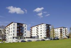 Costruzioni di appartamento Immagini Stock