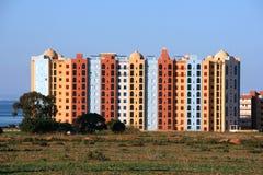 Costruzioni di appartamento Immagini Stock Libere da Diritti