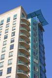 Costruzioni di appartamento in Chicago immagine stock