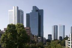 Costruzioni di appartamento a Francoforte sul Meno Fotografia Stock