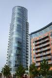 Costruzioni di appartamento moderne portsmouth l'inghilterra Fotografia Stock Libera da Diritti