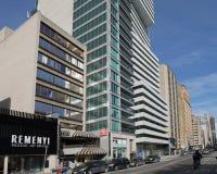 Costruzioni di appartamento moderne, Toronto immagini stock