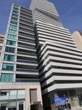 Costruzioni di appartamento moderne, Toronto immagini stock libere da diritti