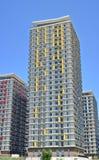 Costruzioni di appartamento residenziali Immagine Stock