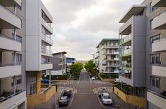 Costruzioni di appartamento, Rodi, Sydney, Australia Immagini Stock Libere da Diritti