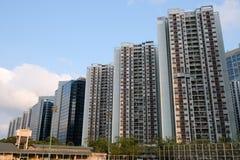 Costruzioni di appartamento Taikoo Shing Hong Kong fotografie stock libere da diritti