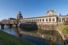 Costruzioni di barocco di Zwinger Immagine Stock