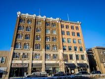 Costruzioni di eredità di Saskatoon Fotografia Stock Libera da Diritti