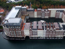 Costruzioni di galleggiamento Fotografia Stock Libera da Diritti