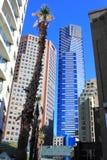 Costruzioni di highrise moderne Immagini Stock