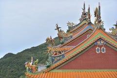 Costruzioni di Keelung Immagine Stock