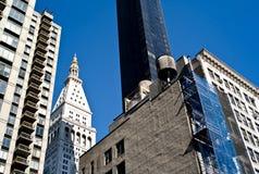 Costruzioni di New York City Immagini Stock