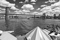 Costruzioni di New York City Fotografie Stock Libere da Diritti