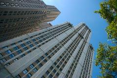Costruzioni di NYC Immagini Stock Libere da Diritti