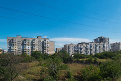 Costruzioni di paesaggio urbano Fotografia Stock Libera da Diritti