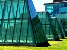 Costruzioni di vetro Fotografie Stock