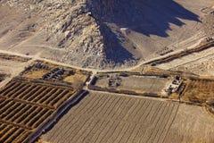 Costruzioni distrutte in Kandahar Afghanistan Fotografia Stock Libera da Diritti