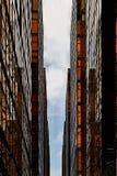 Costruzioni dorate Immagine Stock