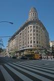 Costruzioni famose di Buenos Aires Immagine Stock Libera da Diritti