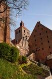 Costruzioni gotiche in Grudziadz Immagini Stock Libere da Diritti