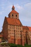 Costruzioni gotiche in Grudziadz Immagine Stock